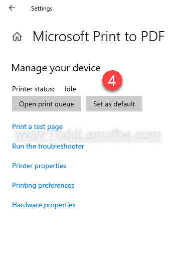 Windows 10 printer - Manage your devices